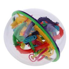 208 Barriers 3D Spherical Maze Ball Balance Game Puzzle Toy Kid Toddler Gift