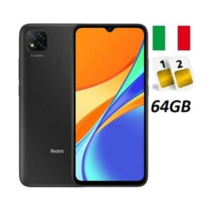 XIAOMI REDMI 9C DUAL SIM 64GB GREY GARANZIA ITALIA NO BRAND