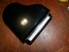 "1982 Enesco Piano Music Jewelry Box plays ""Noctuna� Measures 7 x 6 x 4 in."