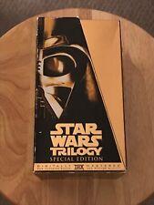 Star Wars Original Trilogy (Gold Special Edition VHS Box Set)