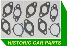 "Twin SU 1 1/4"" Carb Gasket Set (spacer) for Austin Healey Sprite Mk3 1098 64-66"