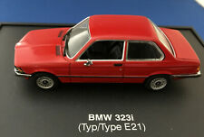 1:43 BMW Minichamps 323i (E21) Promotional Model 2-Door Coupe Zinnabar Red