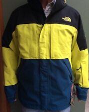 North Face Men's NFZ GoreTex Shell Jacket M Sulphur Spring Green & Black Recco