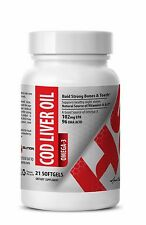 D3 Vitamin - COD LIVER OIL OMEGA-3 - Energy For The Brain 1B