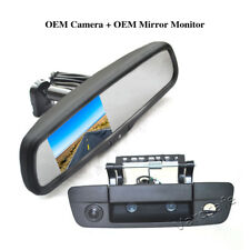Vardsafe | Rear View Backup Camera & Replacement Mirror Monitor for Dodge Ram