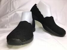 Skechers Seager Stat Slip On Shoes Memory Foam Womens Size 8 Black