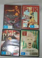 Pink Lot Of 4 Concert DVD Truth about Love  Fun House Try This I'm Not Dead