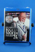 Don Cherry's Rock 'Em Sock 'Em Hockey 24 (Blu-ray Disc, 2012, Canadian) NEW
