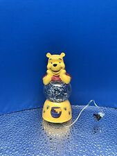 "New Disney ""Winnie The Pooh"" Light-Up Snow Globe Figurine No.19632 Westland Gift"