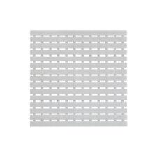 Pedana doccia in plastica bianca 54x54 cm con gomma antiscivolo