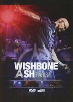 WISHBONE ASH LIVE IN PARIS 2015 DVD NEW SEALED REGION 2 PAL