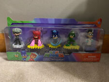 "New PJ Masks Collectible Figure Set 2"" Luna Girl Owlette Catboy Gekko Romeo"