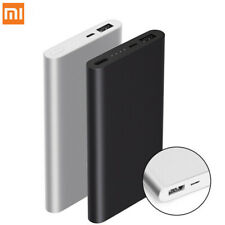 Original Xiaomi Mi 2 10000mAh 18W USB Banco de Alimentación Externo de Batería de carga rápida