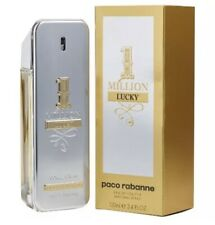 1 Million Lucky by Paco Rabanne 3.4 oz EDT Cologne for Men New In Box