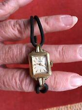 Zentra Vintage Orologio da Polso Placcato Oro, handwinder, Art Deco, GP 20 Mikron