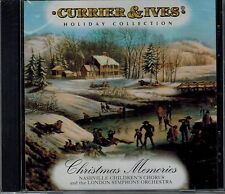 CURRIER & IVES - CHRISTMAS MEMORIES - 11 SONGS - NEW SEALED  CD
