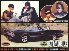 Batmobile Serie Tv 1966 1/25 Batman e Robin Inclusi Model Kit Polar Lights RARA!
