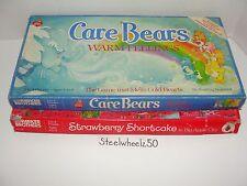 Care Bears Warm Feelings & Strawberry Shortcake in Big Apple City Board Game Lot