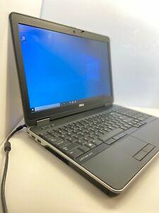 SUPER FAST Dell Latitude E6540 i5 Laptop 8GB 256 SSD HDMI Win10 Pro