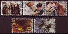 La Nouvelle Zélande 2005 Chronicles of Narnia lot de 5 menthe non montés, neuf sans charnière