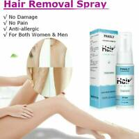 20g 100% Natural Permanent Hair Removal Spray&Hair Growth Inhibitor Powerful HOT
