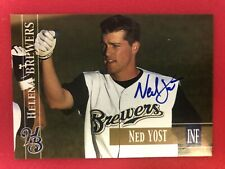 2005 Helena Brewers SIGNED: Ned Yost IV