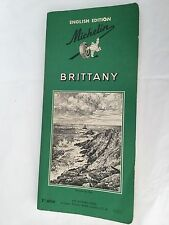 Michelin Green Guide: Brittany English Edition 1965 Dickens Press 3rd edition