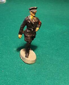 GERMAN SOLDIER MARCHING - ELASTOLIN COMPOSITION - ORIGINAL PREWAR