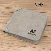 Fashion Men Leather Purse Wallet ID Credit Card Holder Clutch Bifold Coin Pocket
