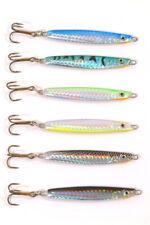32mm 9 x Tronixpro Mackerel Spinners - Sea fishing 1.25 inch Lure fishing