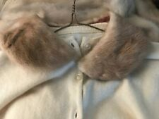 Vintage Brown Mink Fur Collar for your sweater