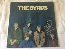 The Byrds SIGNED Turn Turn Turn LP Album X3 David Crosby Roger McGuinn PROOF