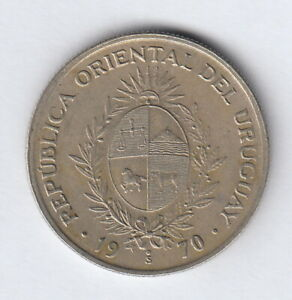 URUGUAY 1970 20 pesos  KM#56  R1204