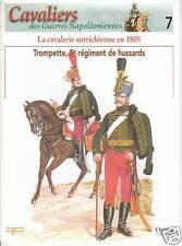 Livre revue la cavalerie autrichienne en 1805 trompette 5ème régiment