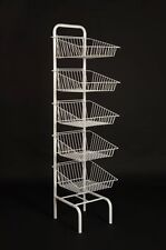 NEW 5 TIER BASKET UNIT RETAIL SHOP DISPLAY STAND