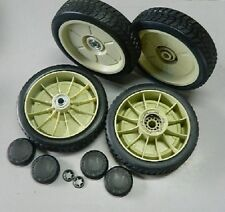 """200mm SET of FRONT & REAR DRIVE WHEELS for HONDA 21"""" lawn mowers"""