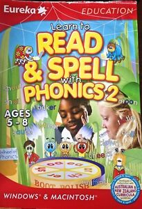 Read & Spell Phonics 2 Windows 7 Education PC Game Austr Curricula Age 5-8 Comp