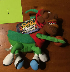 "1998 Infamous Meanies Dennis ""Rodmantis"" Rodman Basketball Star Plush Toy 1"