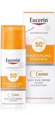 EUCERIN Sun PhotoAging Control CC Creme LSF 50 getönt mittel 50ml PZN 11321322