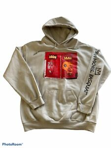 JEAN-MICHEL BASQUIAT Designer MEN HOODY Size Medium Pullover