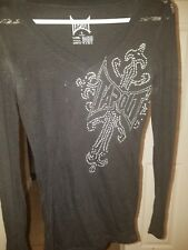 Womens Tapout long sleeve sheer shirt