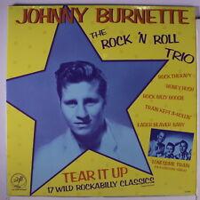 JOHNNY BURNETTE TRIO: Tear It Up LP Sealed Rockabilly