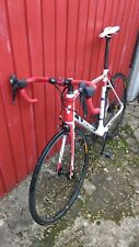 Cube Agree GTC Race Carbon Road Bike 2013 60 cm Frame White Red and Black