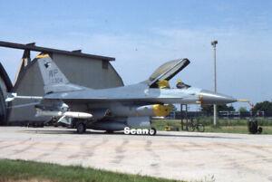 Original 35mm Slide Military Aircraft/Plane USAF F-16C 86-304 Sep 1994 #P4458