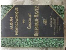 Album Photo carte CHOCOLAT DELESPAUL HAVEZ pas de plaque émaillé ideal vitrine