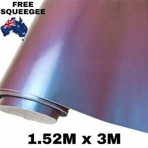 1.52M X 3M CHAMELEON CAR VINYL WRAP FILM ROLL STICKERS DECAL DECOR AIR RELEASE