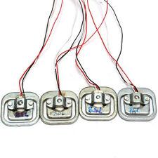 4PCS 50Kg Body Load Cell Weighing Sensor Resistance strain Half-bridge Total  LC