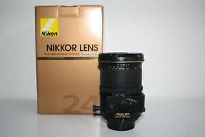 Nikon PC-E Nikkor 24mm 1:3.5 D ED Tilt Shift 1 Jahr Gewährleistung