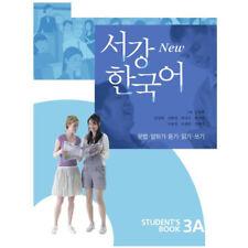 New Sogang Korean 3A Student's Book With CD Korean Language Book Conversation