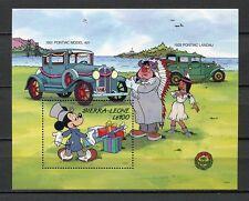 27647) SIERRA LEONE 1989 MNH** Nuovi** Disney Pontiac...
